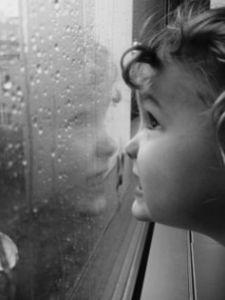 child-raining
